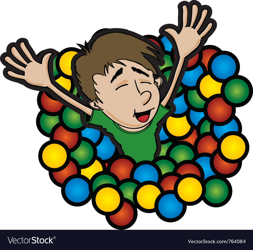 Ball pit vector | Price: 1 Credit (USD $1)