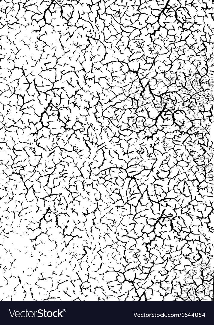 Cracked dirt overlay vector