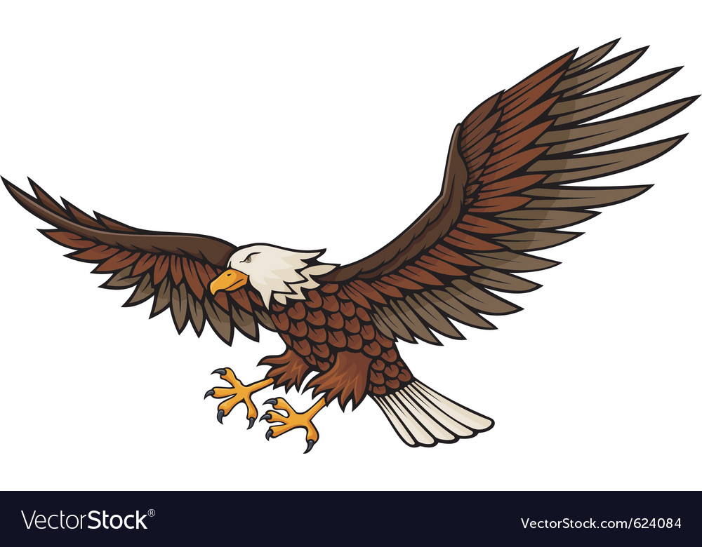 Eagle attacking vector | Price: 1 Credit (USD $1)