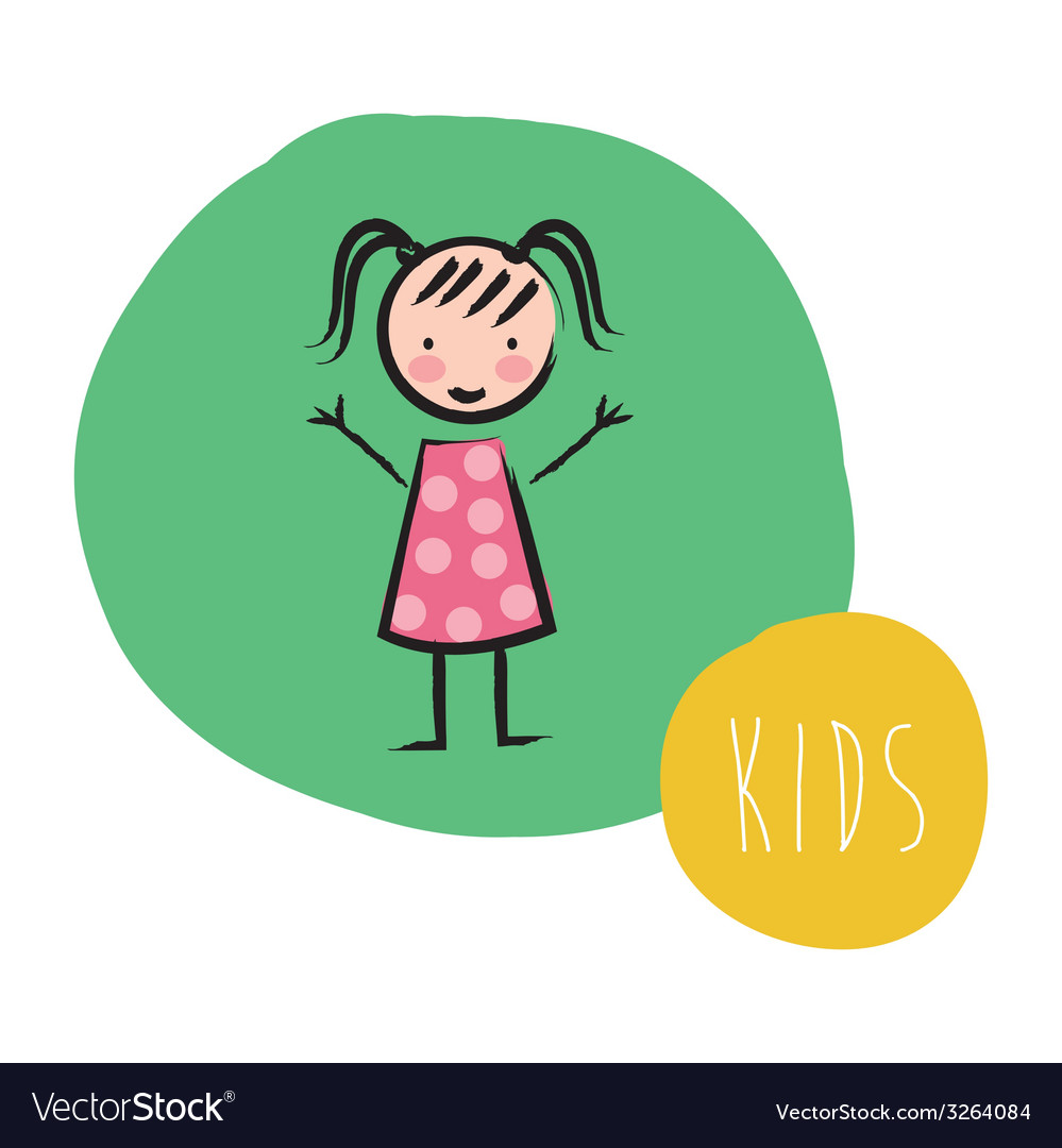 Kids design vector | Price: 1 Credit (USD $1)