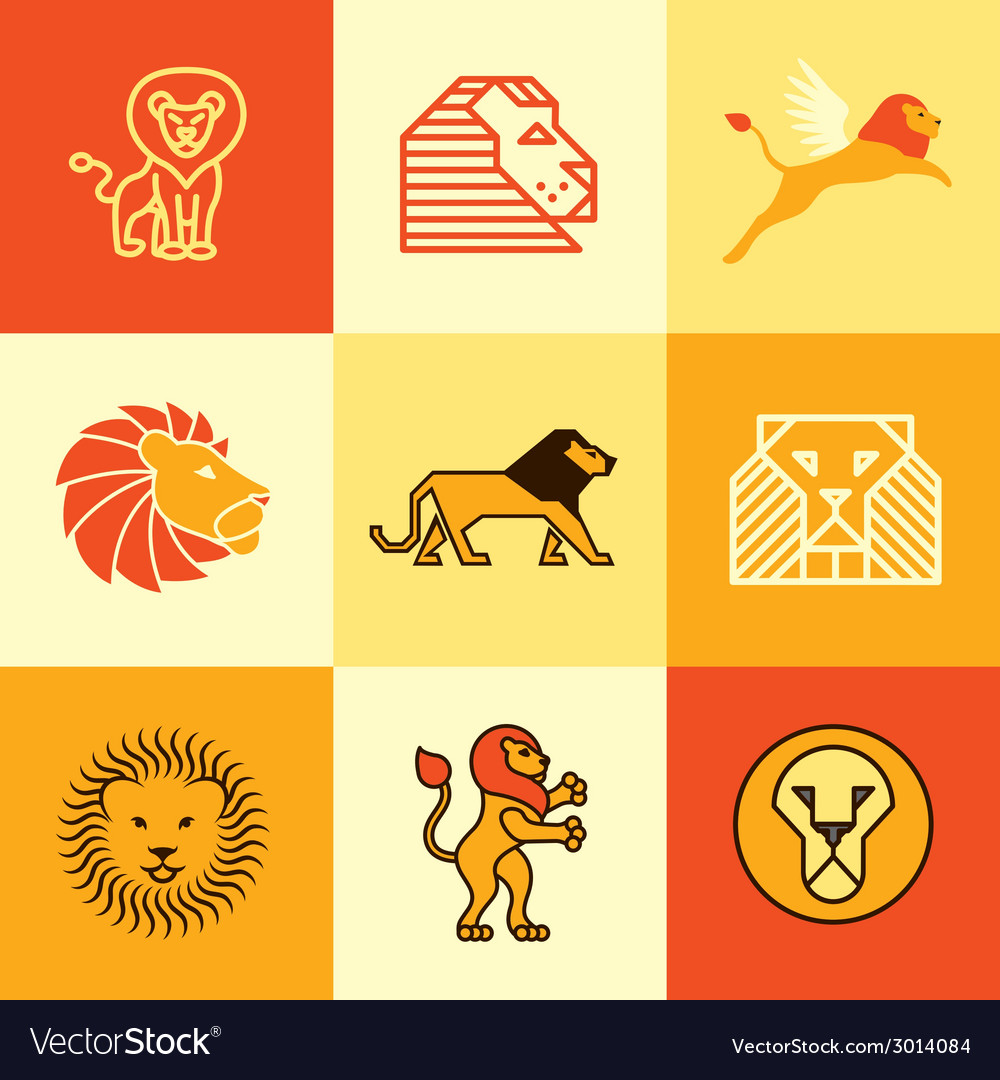 Leo logo icons vector | Price: 1 Credit (USD $1)
