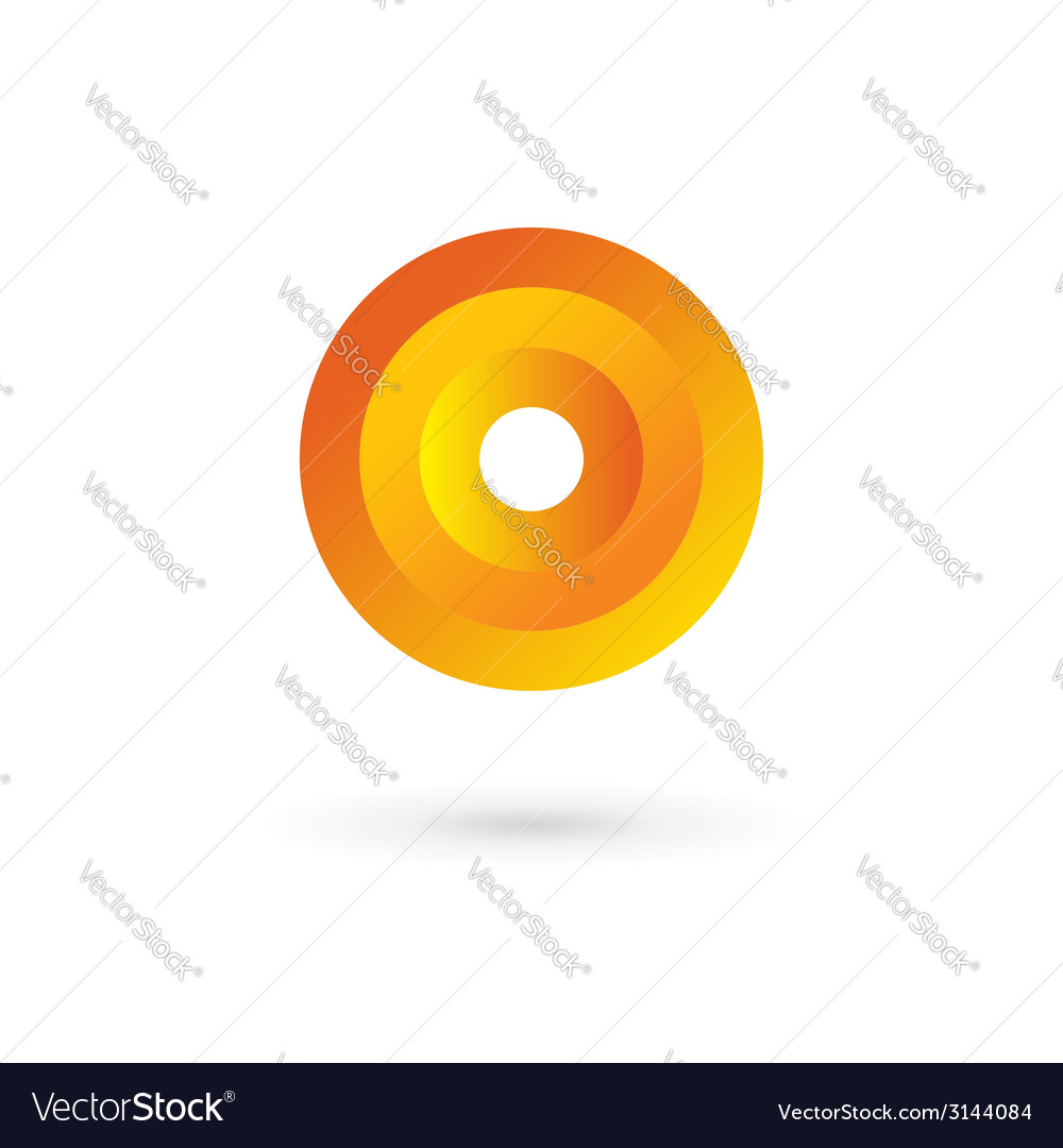 Letter o logo icon design template elements vector | Price: 1 Credit (USD $1)