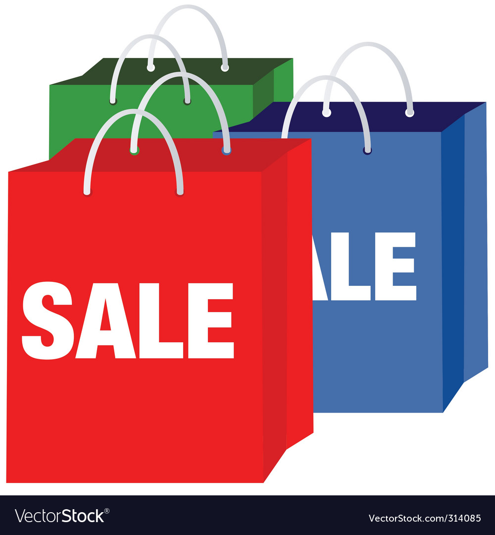 Shopping bags vector | Price: 1 Credit (USD $1)
