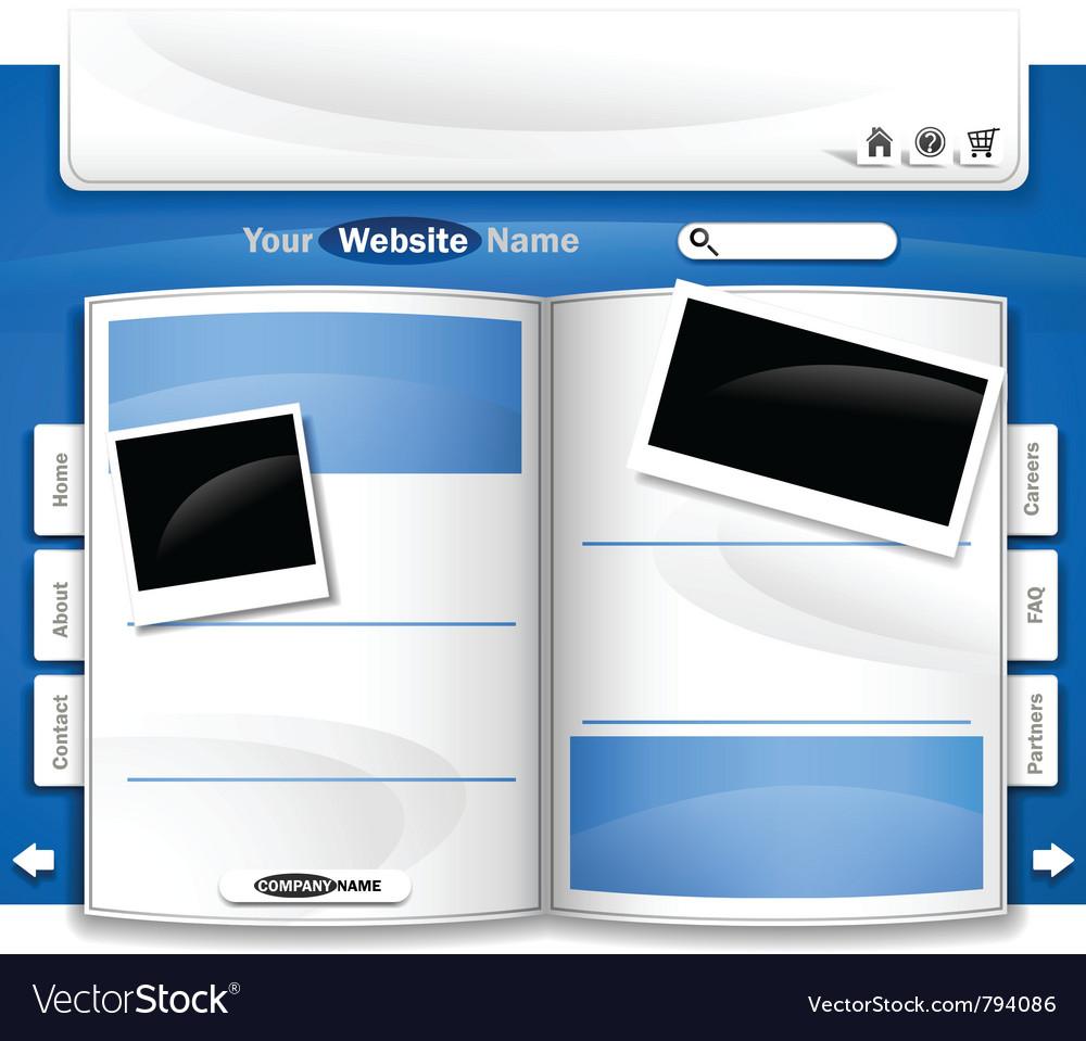 Website design vector | Price: 3 Credit (USD $3)