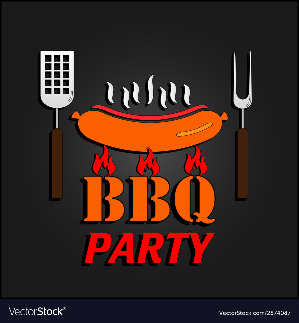 Bbq design card  eps 10 vector | Price: 1 Credit (USD $1)