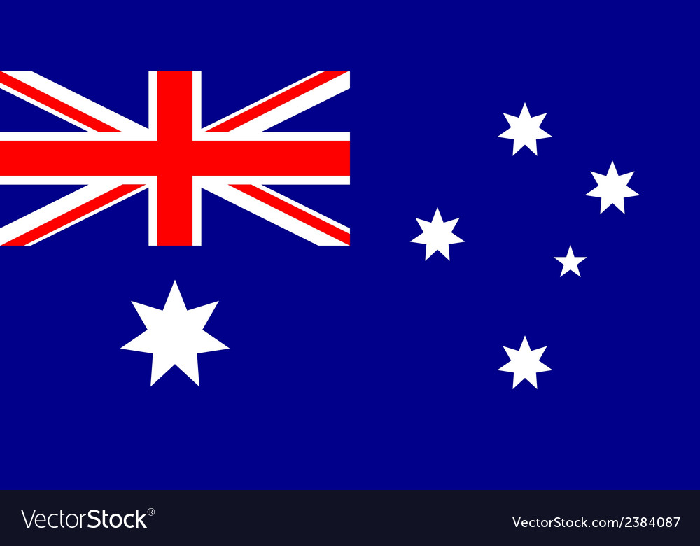 Flag of australia vector   Price: 1 Credit (USD $1)