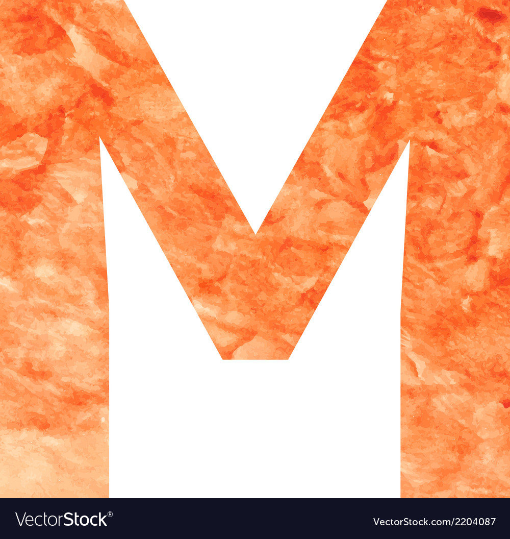 M land letter vector | Price: 1 Credit (USD $1)