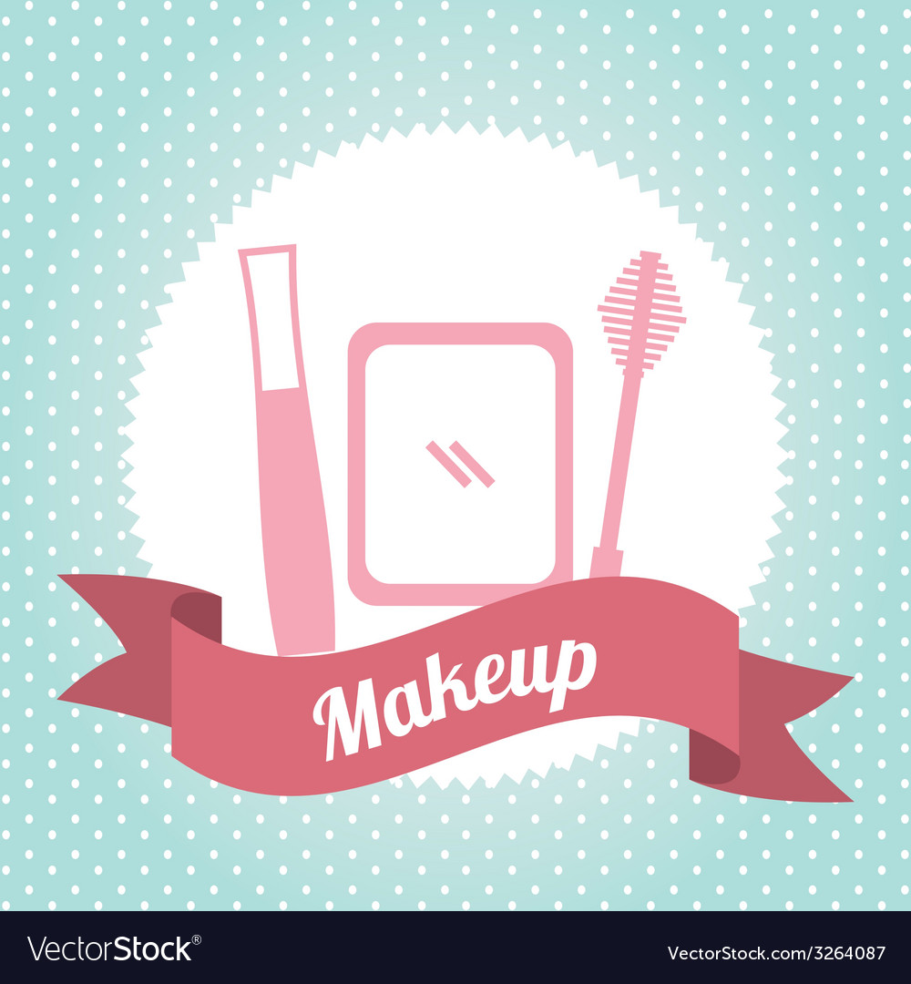 Makeup design vector | Price: 1 Credit (USD $1)