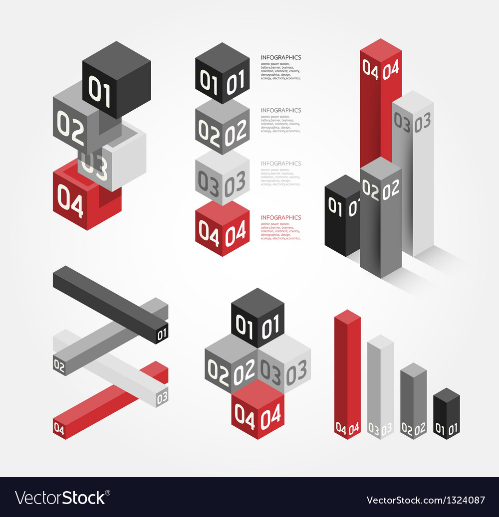 Modern graph design can be used for infographics vector | Price: 1 Credit (USD $1)