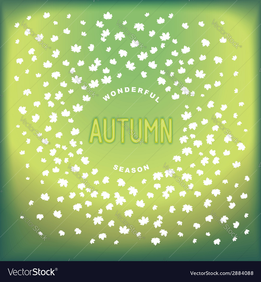 Abstract autumn design cover vector   Price: 1 Credit (USD $1)