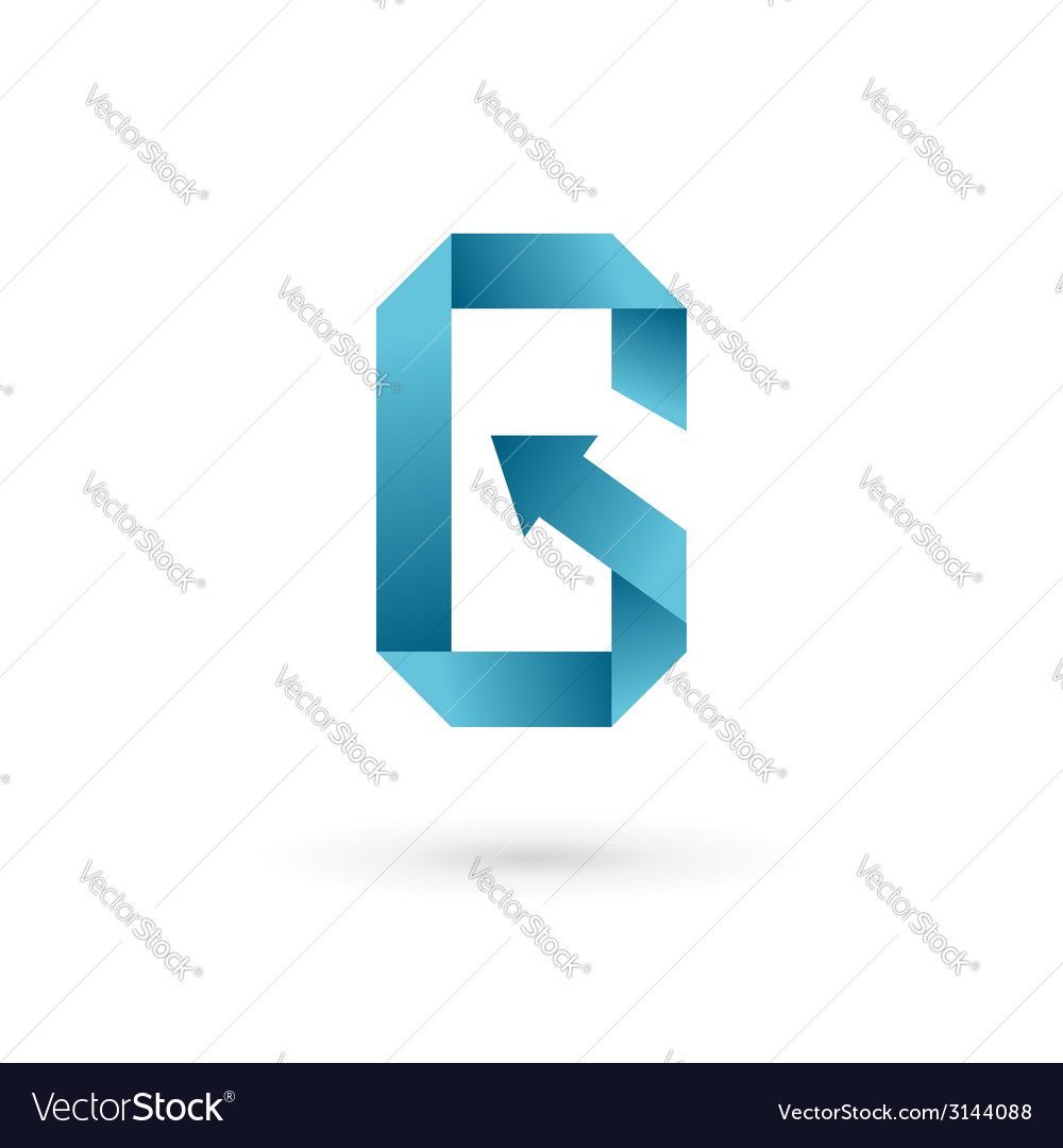Letter g arrow mobile phone app logo icon design vector   Price: 1 Credit (USD $1)