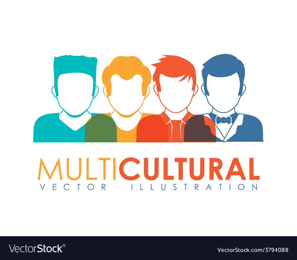 Multicultural vector | Price: 1 Credit (USD $1)