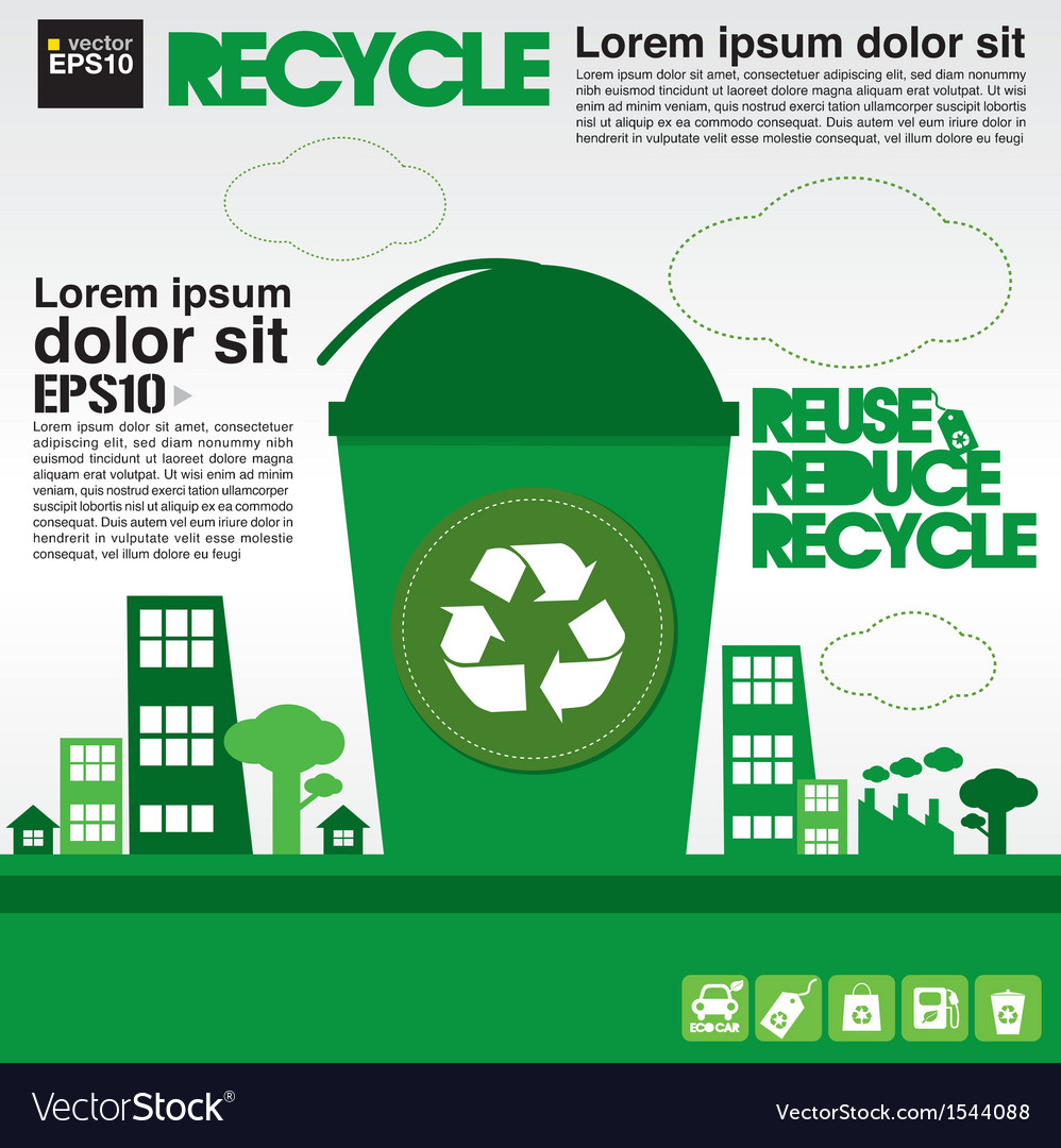 Recycle concept eps10 vector | Price: 1 Credit (USD $1)