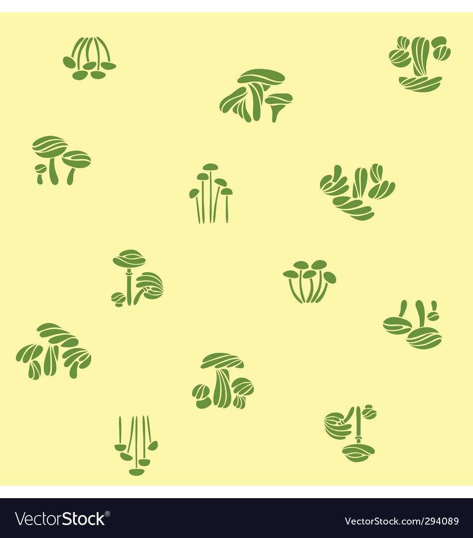 Mushroom season vector | Price: 1 Credit (USD $1)