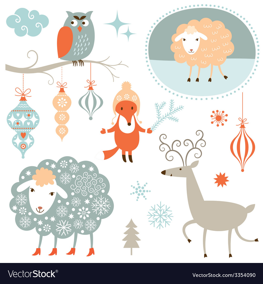 Christmas clip art vector | Price: 1 Credit (USD $1)