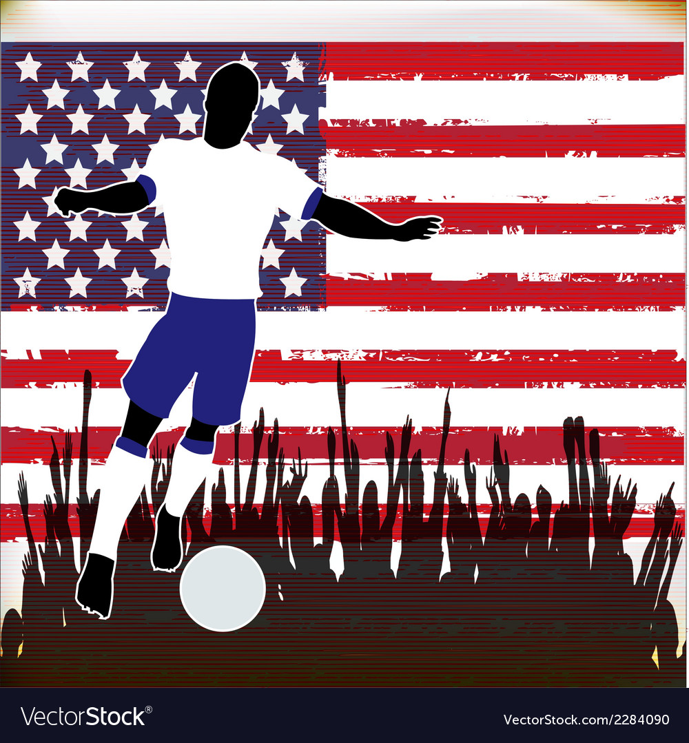 Football usa vector