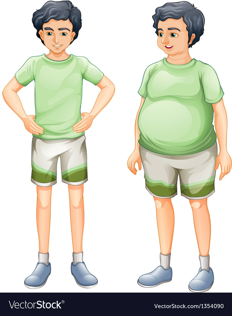Same boy different body vector | Price: 1 Credit (USD $1)