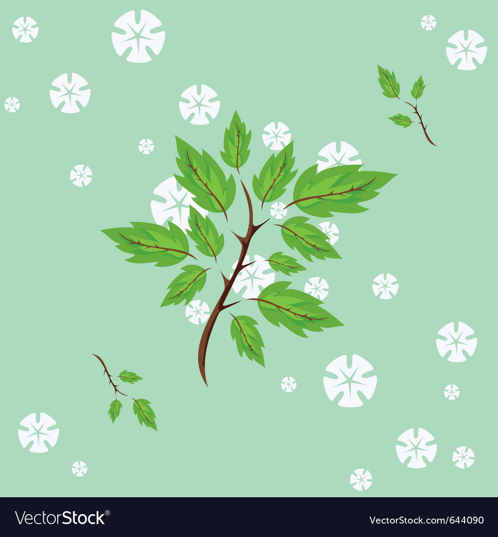 Spring flowering vector | Price: 1 Credit (USD $1)