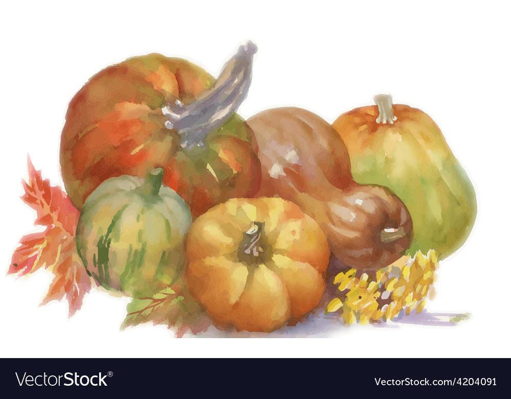 Artistic fruit design vector | Price: 1 Credit (USD $1)