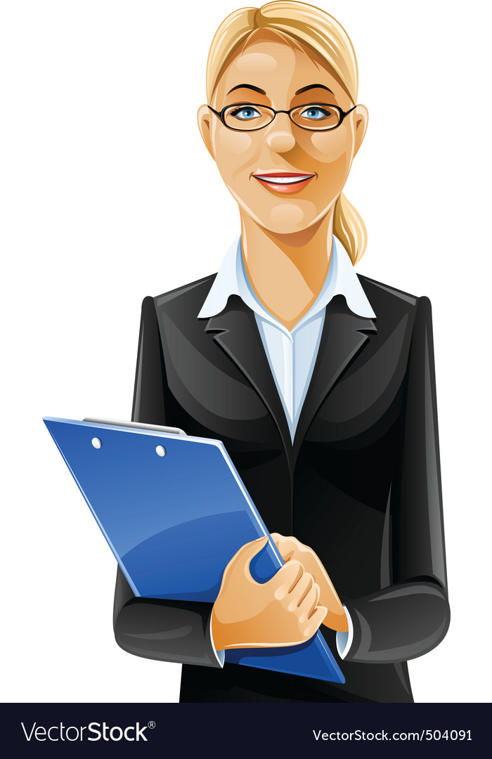 Business woman vector | Price: 5 Credit (USD $5)