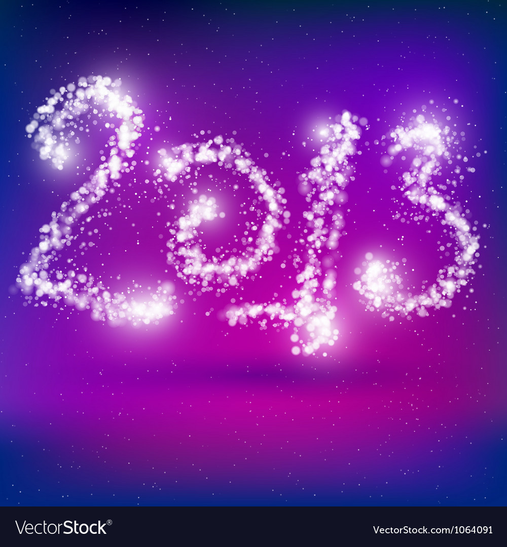 Happy new year 2013 greeting card vector | Price: 1 Credit (USD $1)