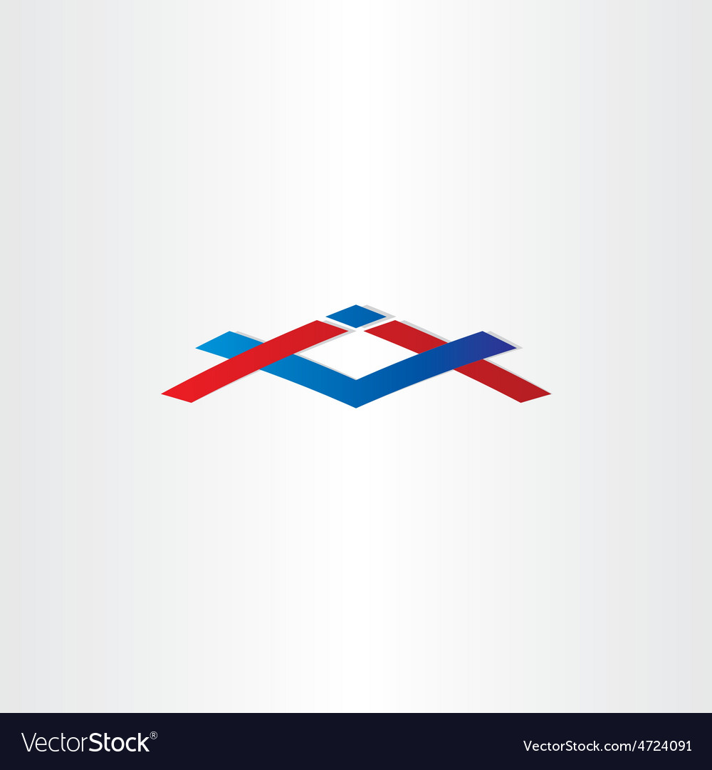 House construction icon abstract building sign vector | Price: 1 Credit (USD $1)