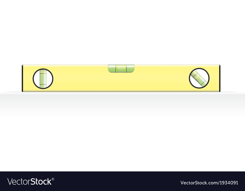 Spirit level vector | Price: 1 Credit (USD $1)