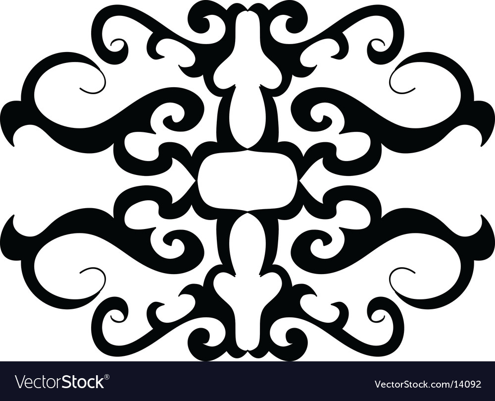Ornament design vector | Price: 1 Credit (USD $1)