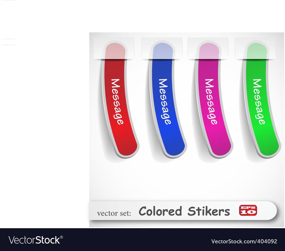 Sticker set vector | Price: 1 Credit (USD $1)