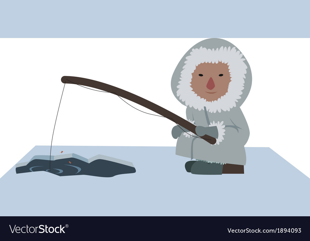 Eskimo fisher vector | Price: 1 Credit (USD $1)