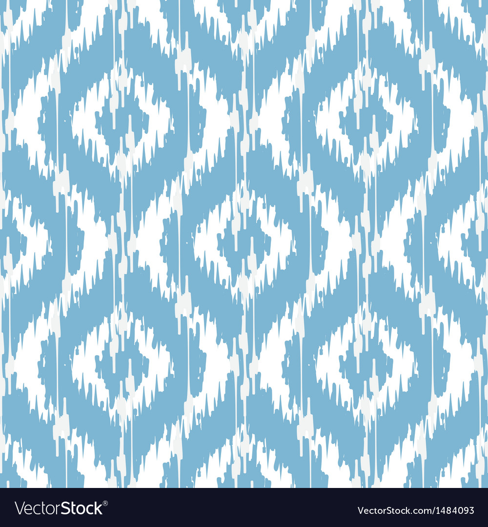 Ikat damask vector | Price: 1 Credit (USD $1)