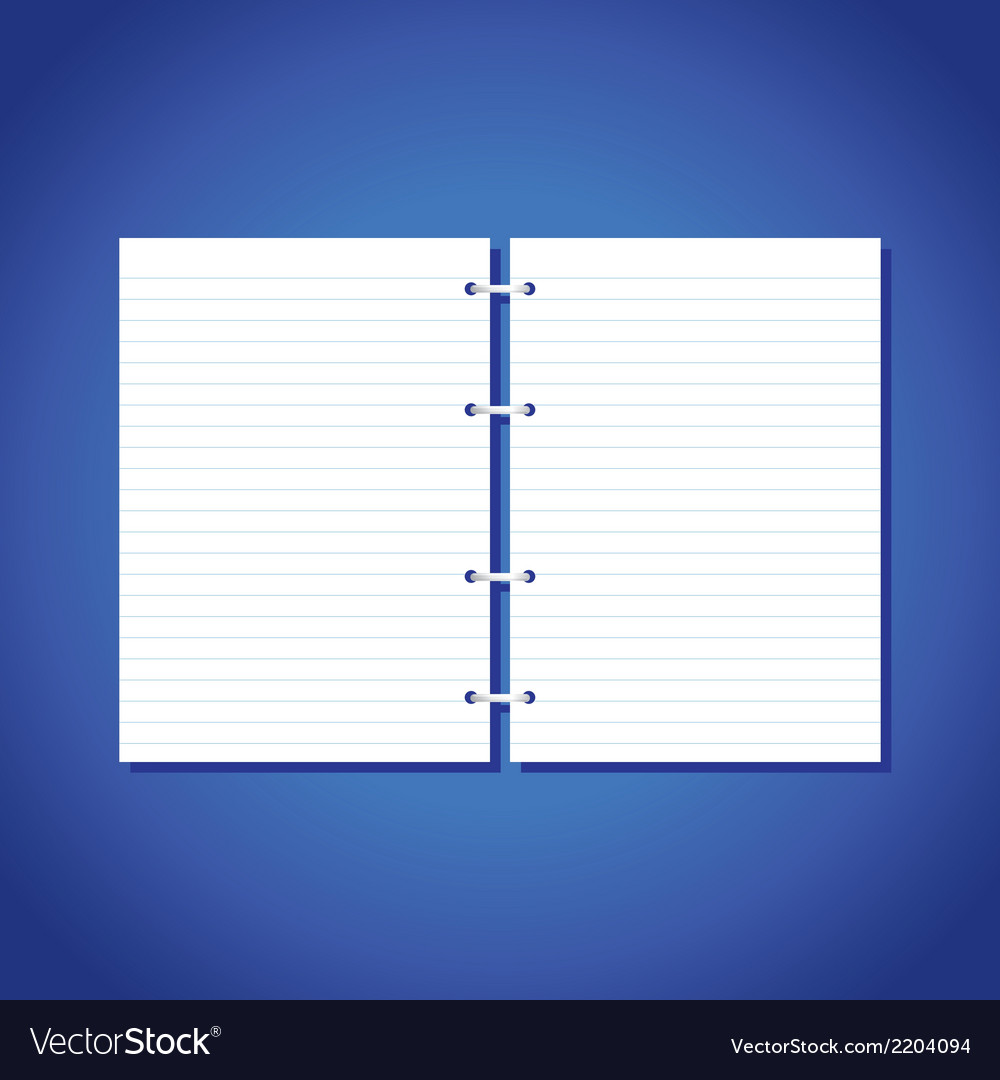 Blank pages of paper vector | Price: 1 Credit (USD $1)