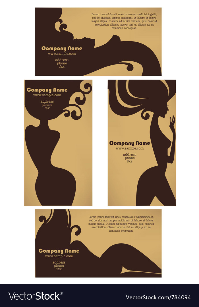 Hot suncards for beauty salons vector | Price: 1 Credit (USD $1)