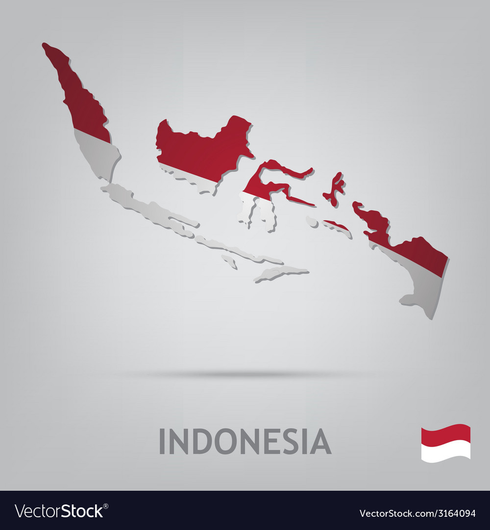 Indonesia vector | Price: 1 Credit (USD $1)
