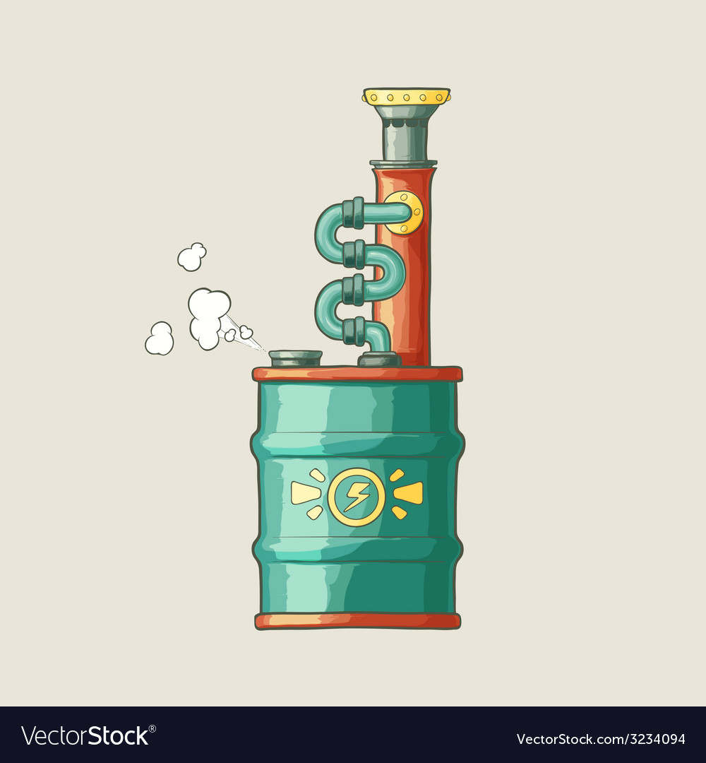 Original of a steampunk styled boiler vector   Price: 1 Credit (USD $1)