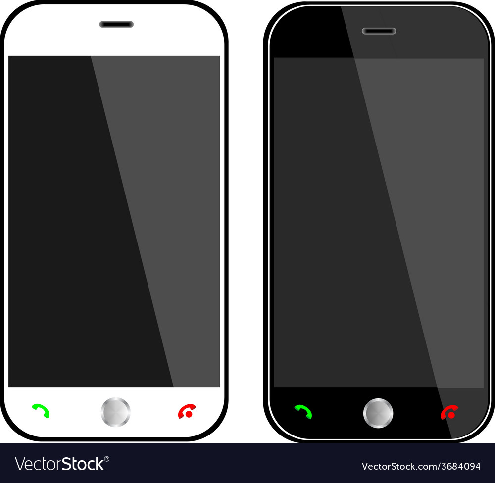 Phones vector | Price: 1 Credit (USD $1)