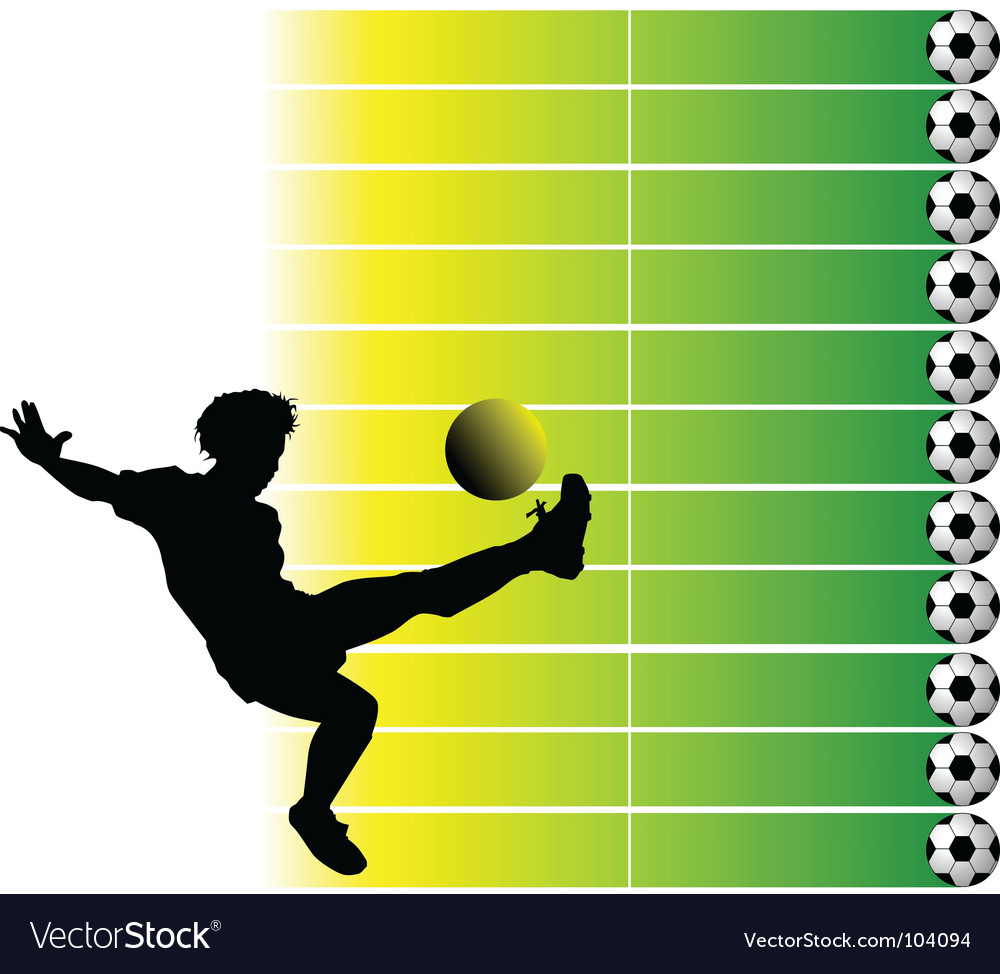 Soccer final vector | Price: 1 Credit (USD $1)