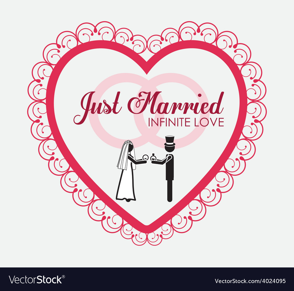 Married couple desing vector | Price: 1 Credit (USD $1)