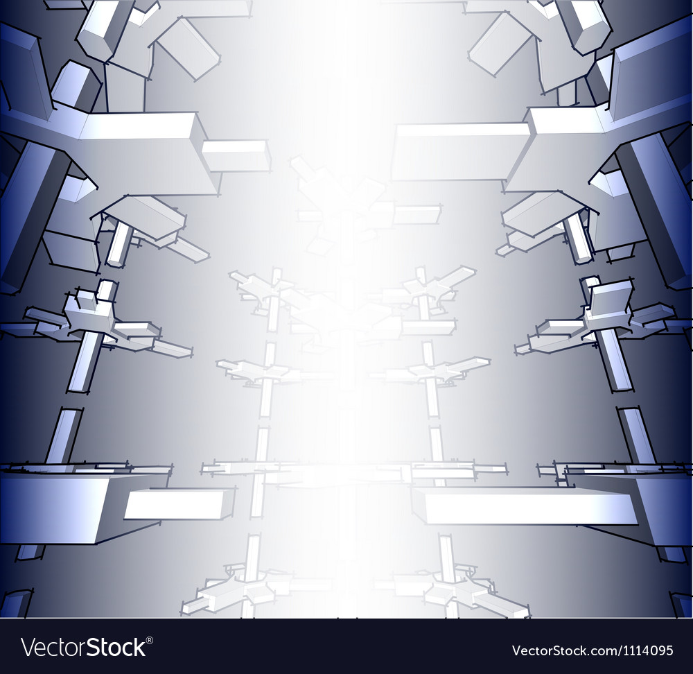 Sketch of an abstract architecture vector | Price: 1 Credit (USD $1)