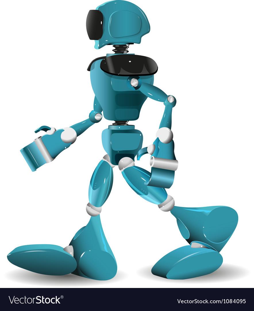 Walking robot vector | Price: 3 Credit (USD $3)