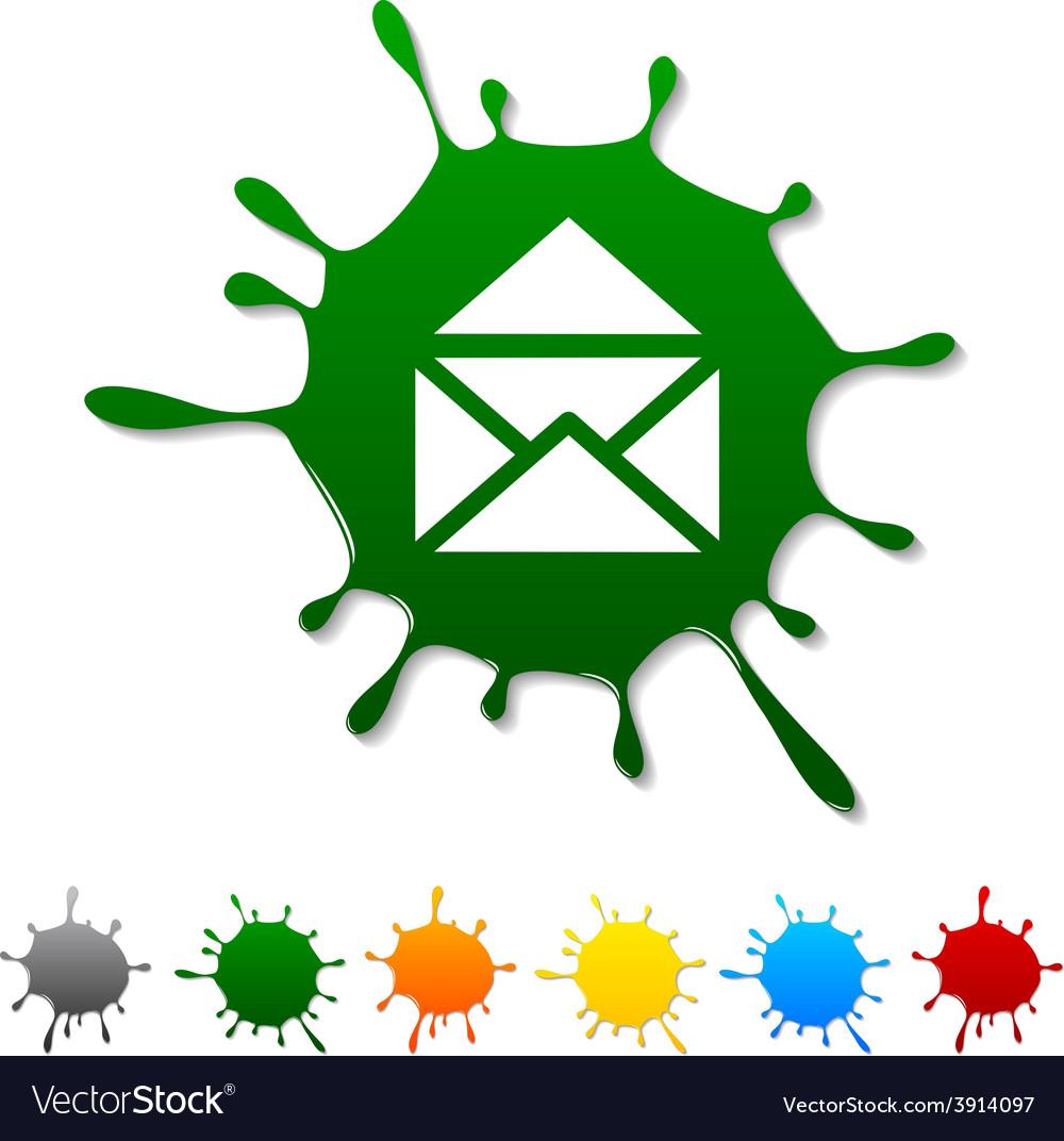 E-mail blot vector | Price: 1 Credit (USD $1)
