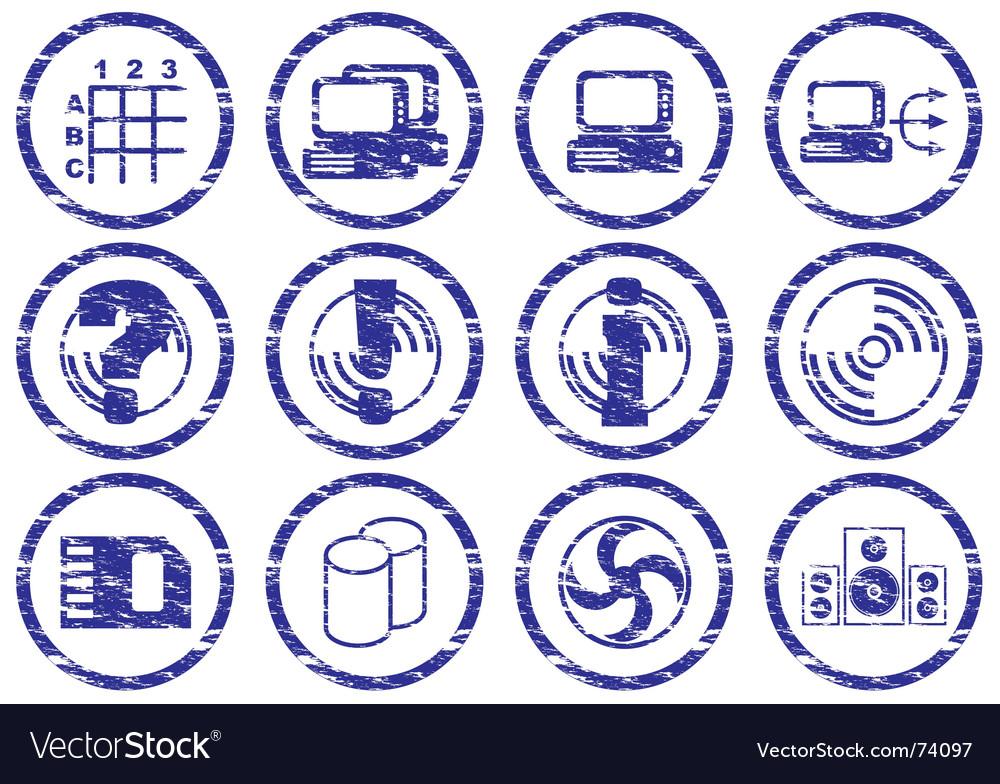 Gadget icons vector   Price: 1 Credit (USD $1)