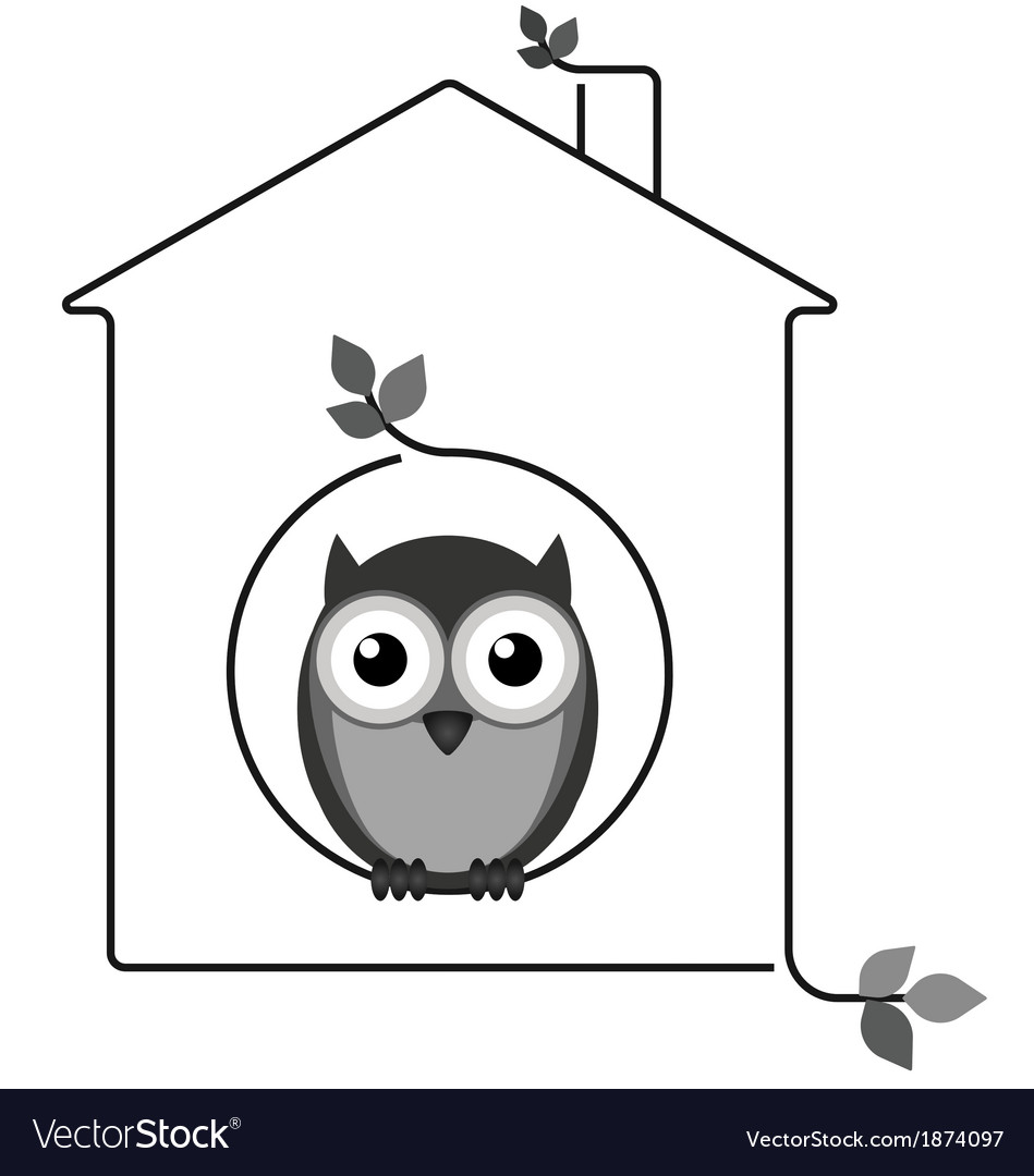 Twig house vector | Price: 1 Credit (USD $1)
