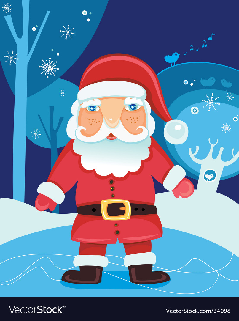 Christmas santa claus vector | Price: 3 Credit (USD $3)