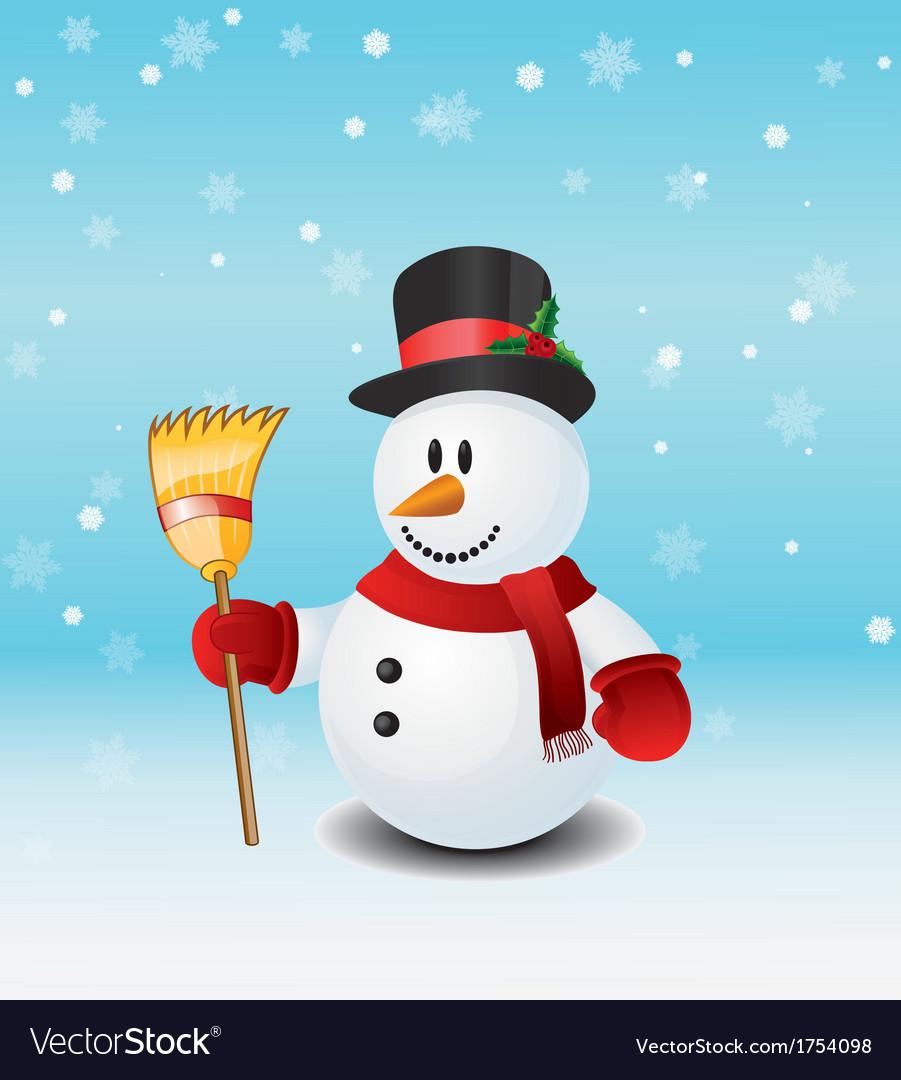 Snowman vector | Price: 1 Credit (USD $1)