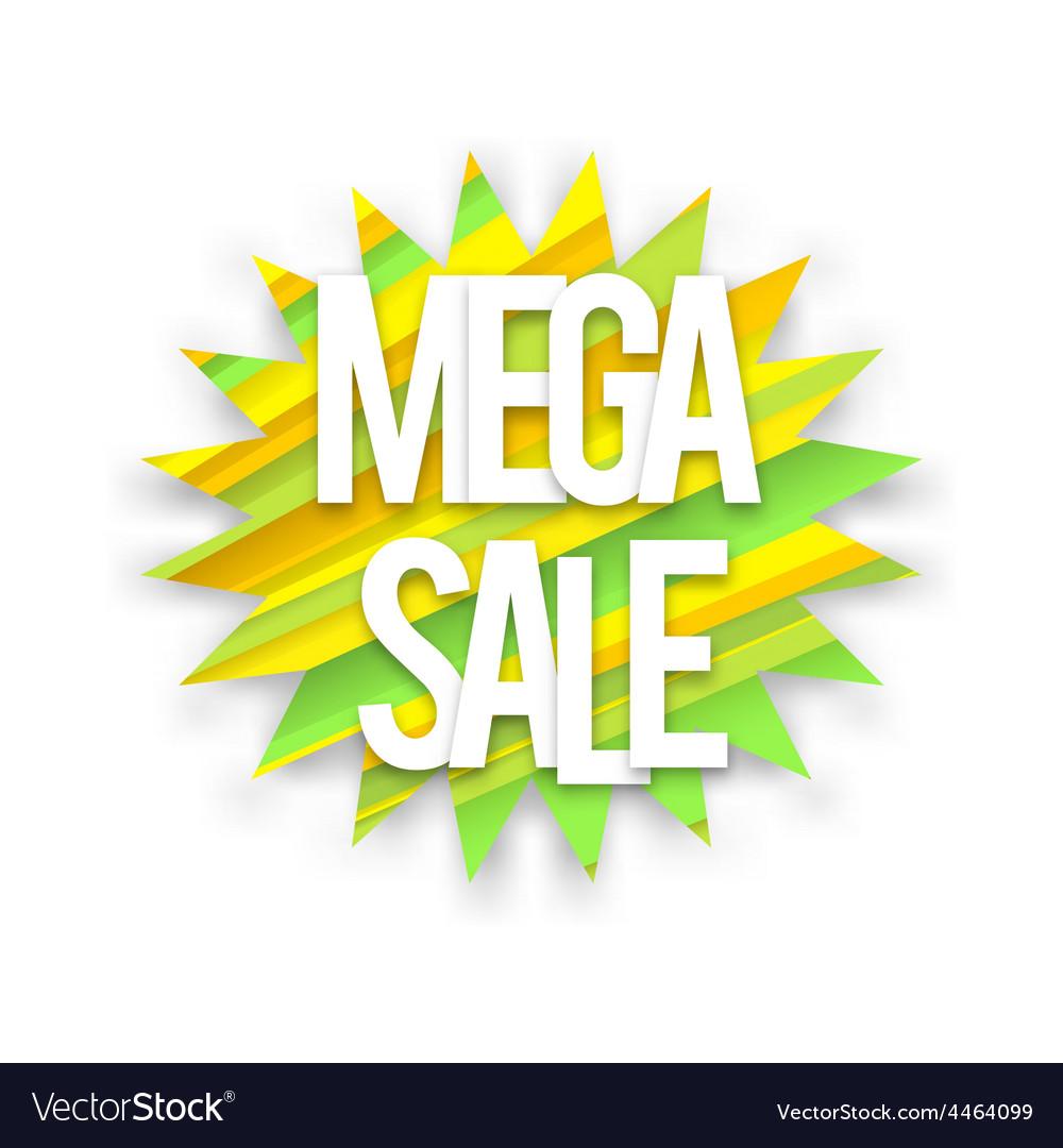 Boom mega sale vector | Price: 1 Credit (USD $1)