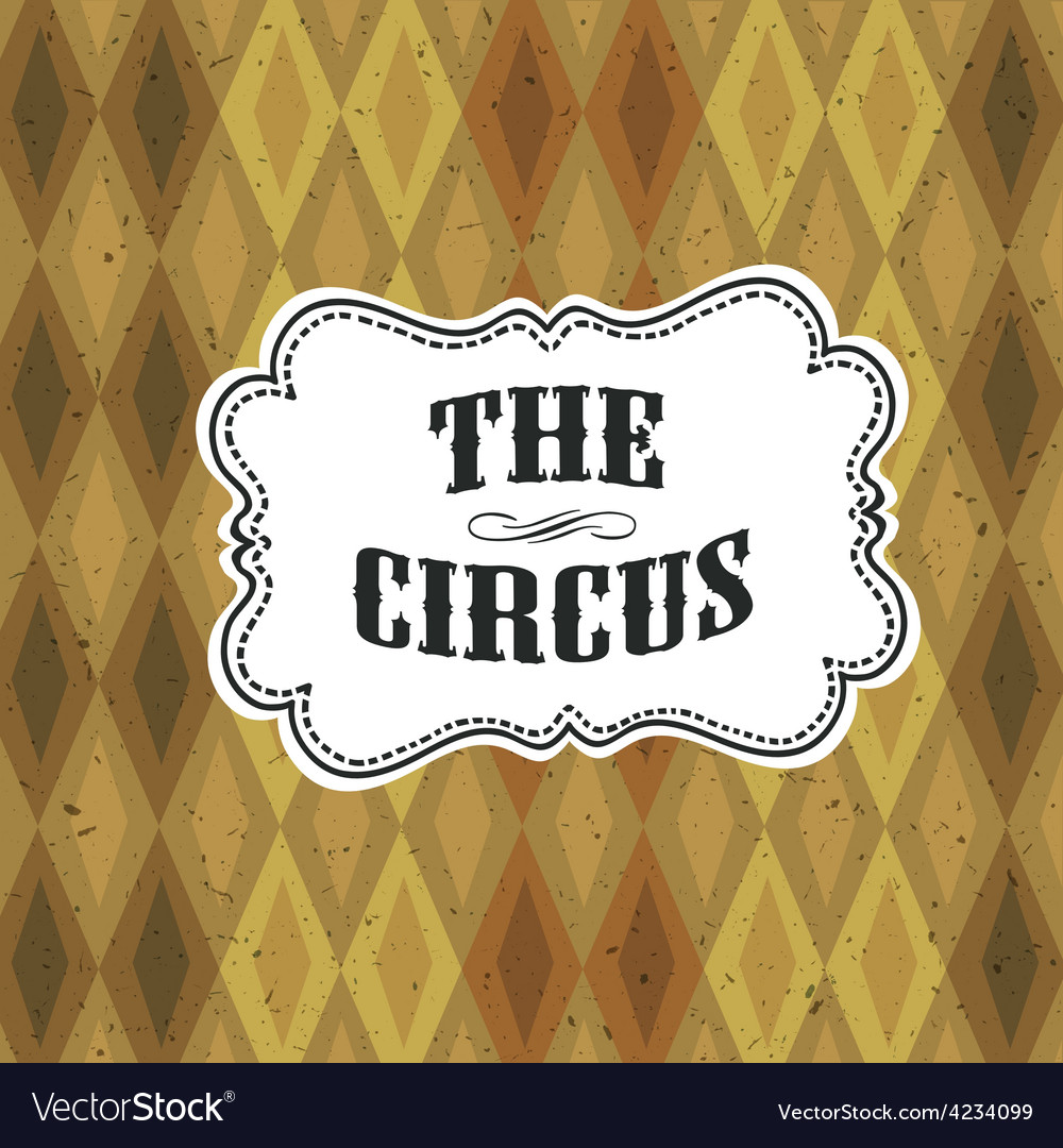 Circus diamon pattern vector   Price: 1 Credit (USD $1)