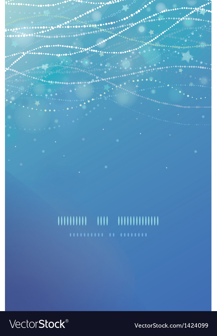 Magical underwater bubbles vertical template vector | Price: 1 Credit (USD $1)