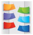 Colorful label design elements vector