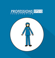 Profession desing vector